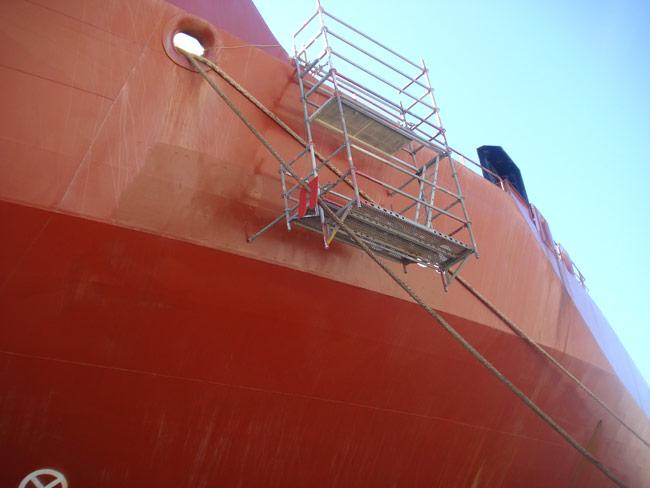Paint works - Ship Repair - Crisnaval
